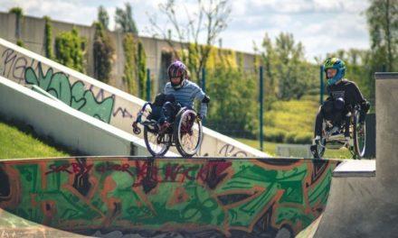 Weltmeisterschaft im Rollstuhlskaten in der Domstadt