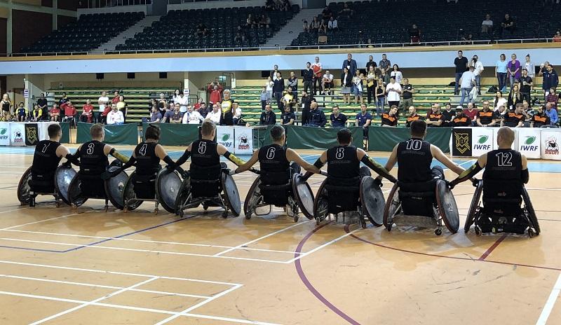Rollstuhlrugby EM steht vor der Türe