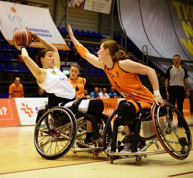 Team Germany unterliegt Weltmeister Niederlande mit 51:55 nur knapp