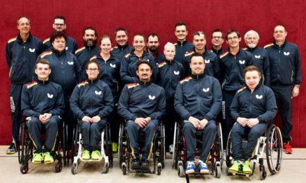 Para Tischtennis EM: Ziegler schlägt Athleten-Team vor