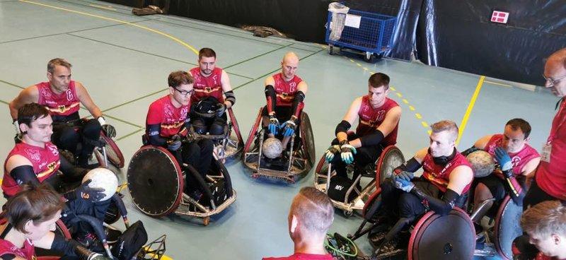 Rollstuhlrugby EM: Deutschland mit zweiter Niederlage