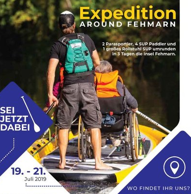 Stand-up-Paddling – Expedition around Fehmarn