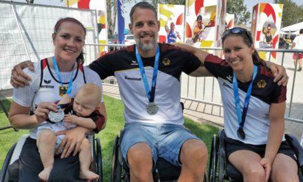 Nach Babypause zurück an der Weltspitze: Edina Müller