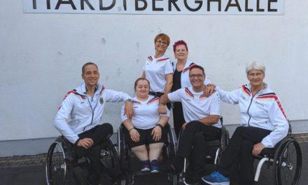 WM-Feeling bei den deutschen Rollstuhltänzern