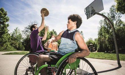Nachwuchsförderung im Rollstuhlsport