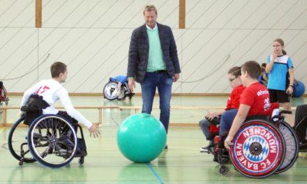 2. Wheelsoccer Cup in Stuttgart – Saisonhöhepunkt der Wheelers mit prominentem Besuch