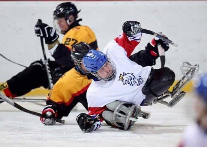 Die B-Weltmeisterschaft im Para-Eishockey in Berlin
