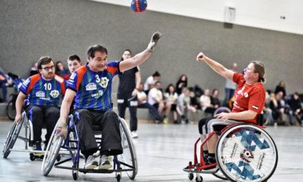 Roll 'n' Goal: Geglückte Premiere im Rollstuhl-Handball in Hamburg