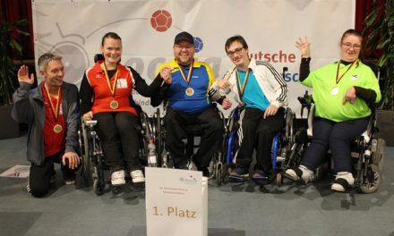 Deutsche Meisterschaften im Boccia – Fairer Wettkampf um die Titel