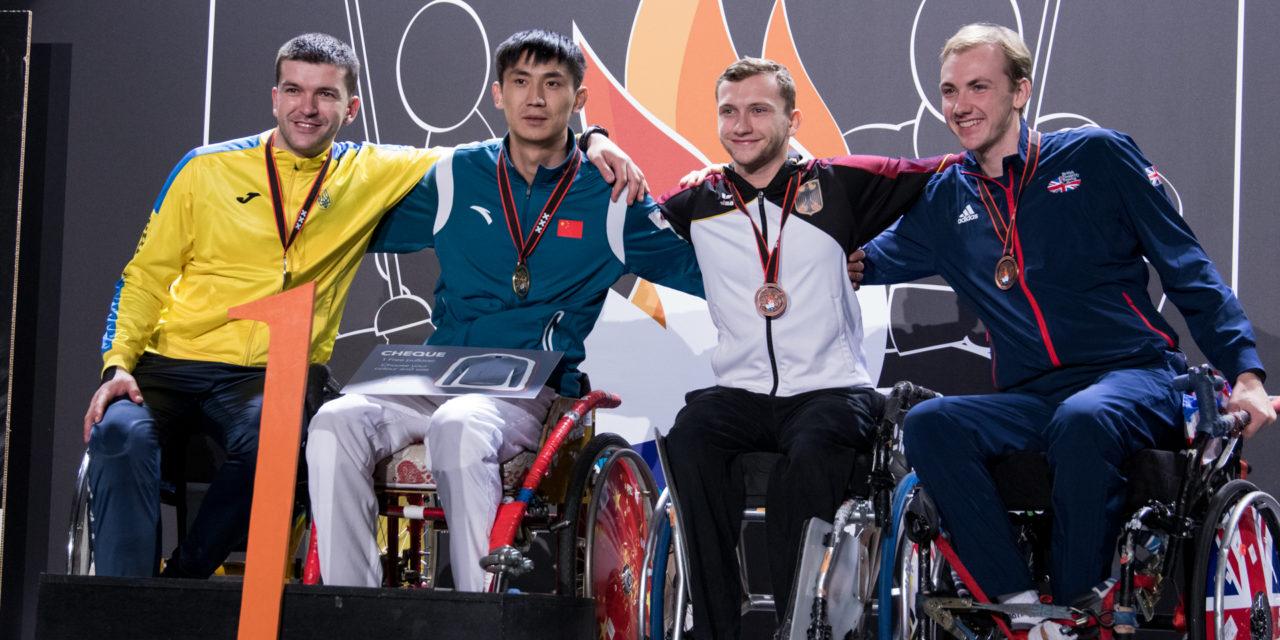 Rollstuhlfechten: Bronze im Säbel für Schmidt