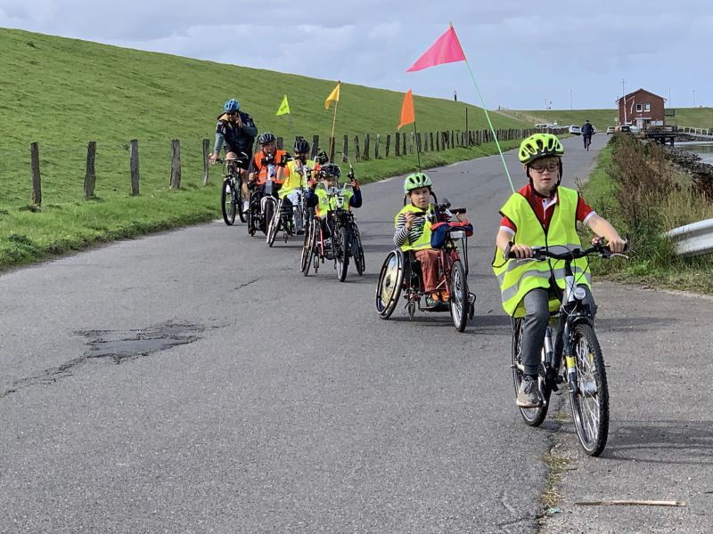 Erfolgreiches Handbike- Fahrsicherheitstraining in Büsum