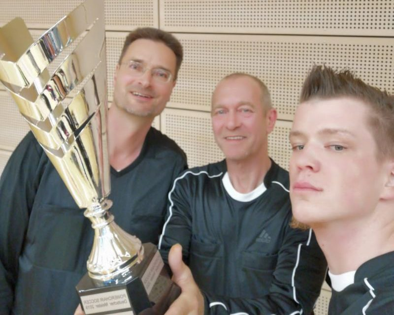 Premiere im E-Rolli-Fußball: Knights Barmstedt sind 1. Deutscher Meister