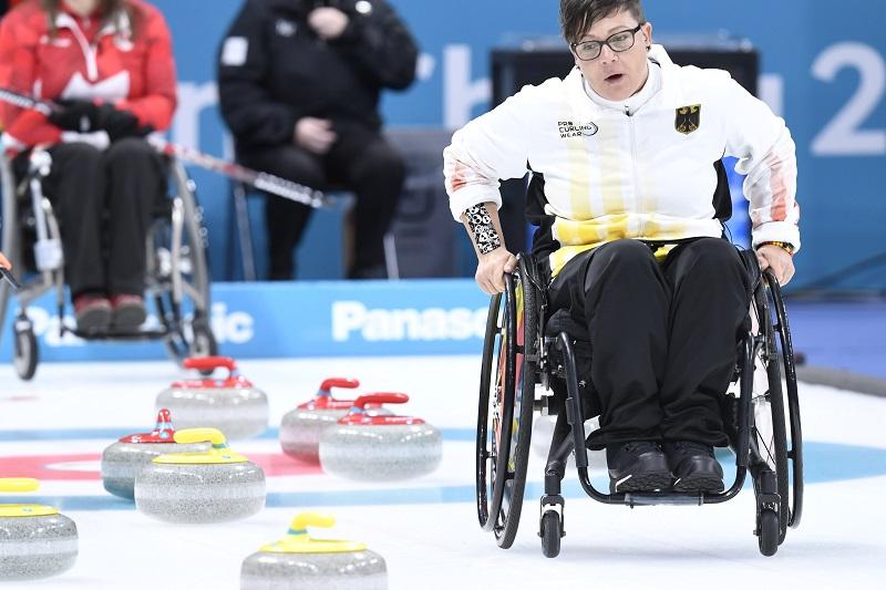 Rollstuhlcurling B-WM: Aufstieg verpasst