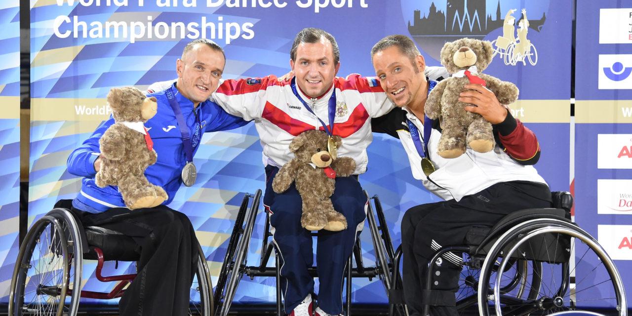 Para Tanzsport: Zweimal Bronze bei der Heim-WM für Erik Machens