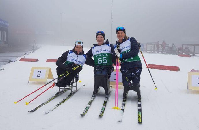 Biathlon Sprint im geliebten Nebel