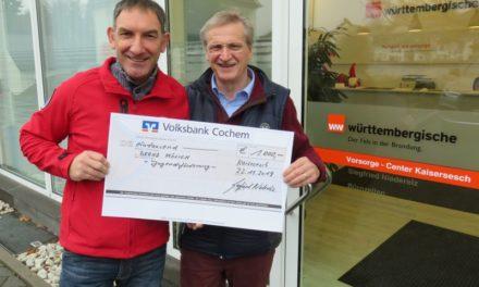DRS-Rollikids freuen sich über 1.000 €