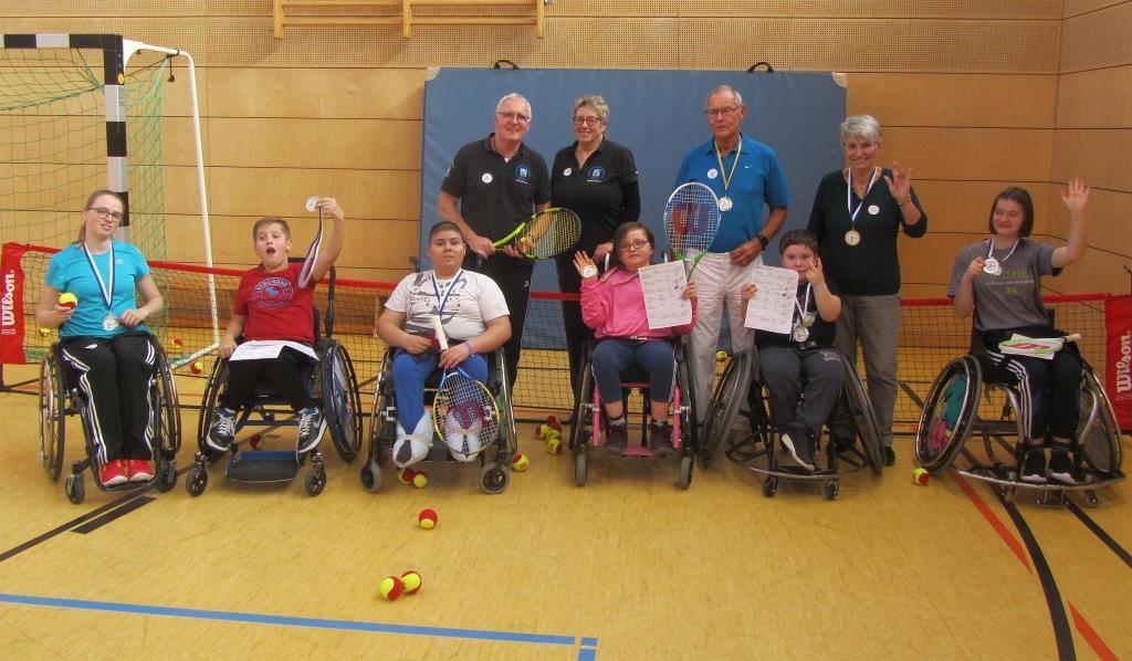 Mini-Rollstuhlsport-Olympiade