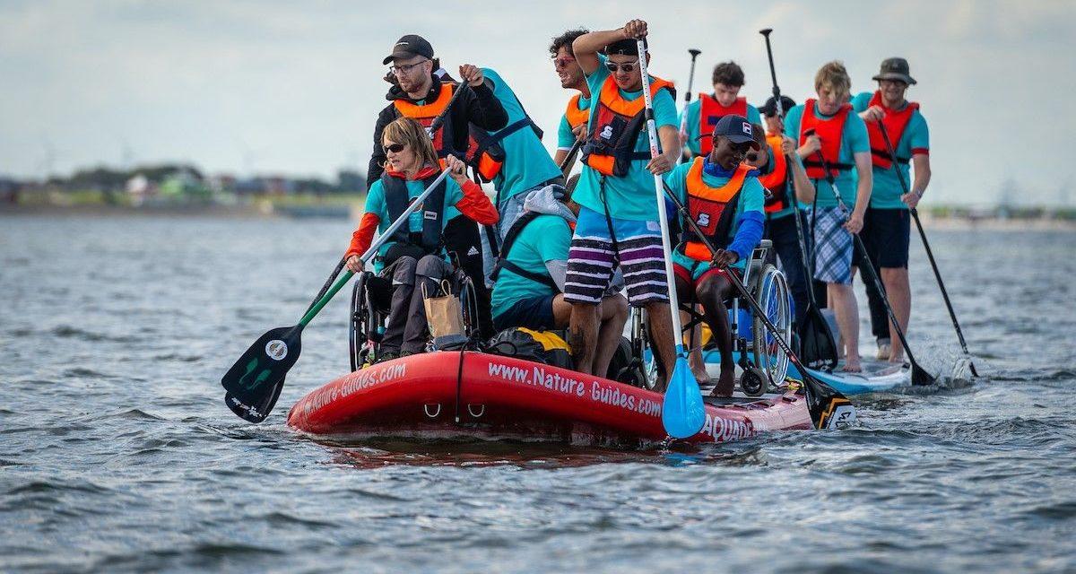 Rolli-SUP Regatta für Frauen-Crews