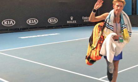 Das Ende einer langen Tenniskarriere
