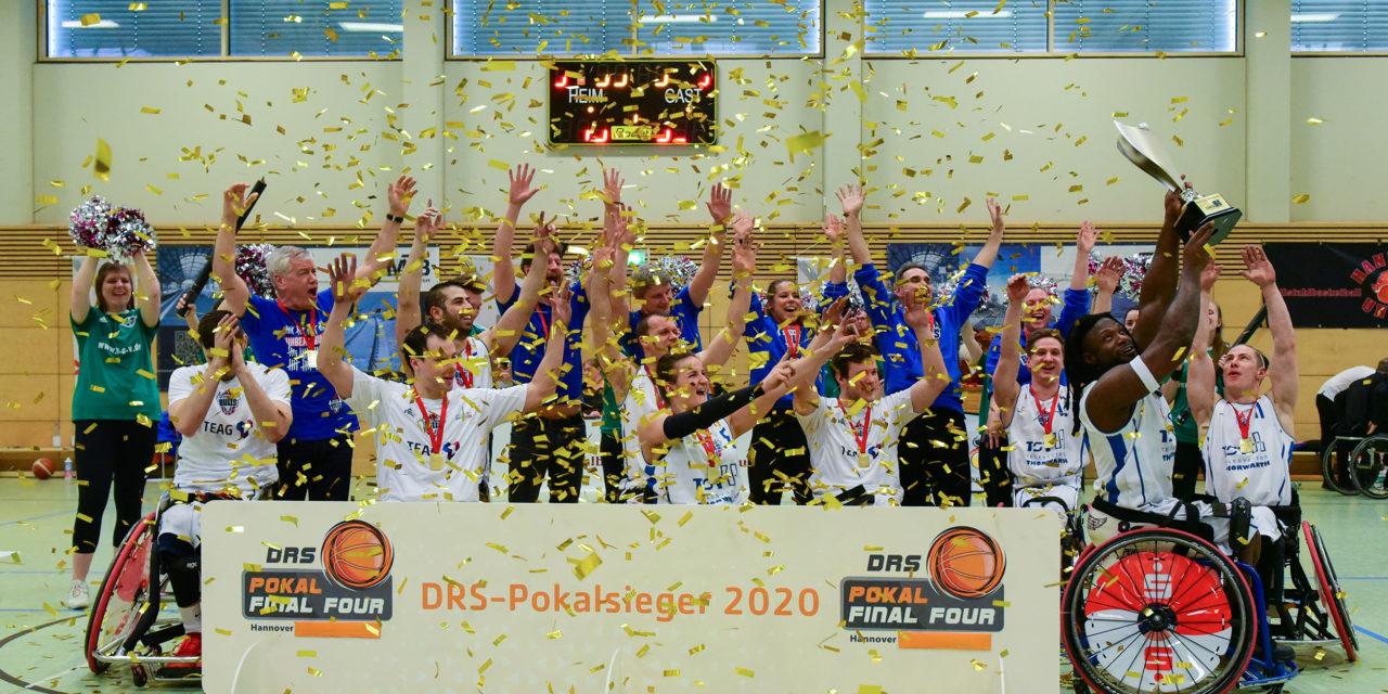 Die Thuringia Bulls sind DRS-Pokalsieger 2020