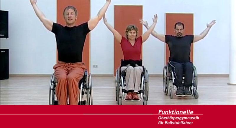 Funktionelle Oberkörpergymnastik für Rollstuhlfahrer*innen