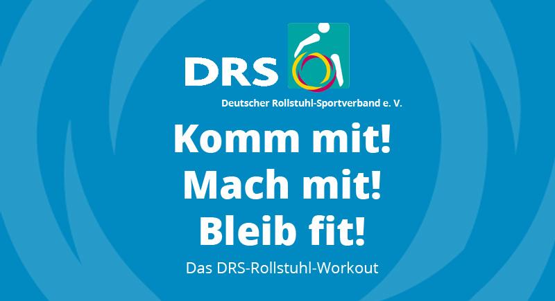DRS-Workout für Rollstuhlfahrer*innen