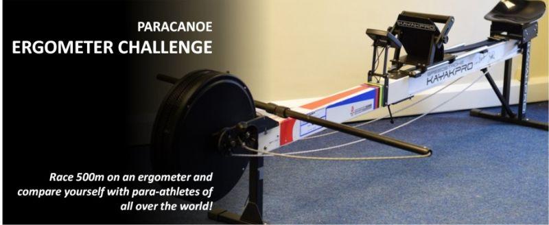 Ergometer-Challenge für Para-Kanuten – weltweit!