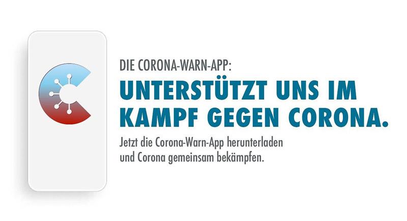 Corona-Warn-App des Bundes verfügbar