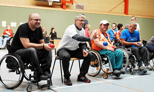 Peter Richarz  – eine DRS Rollstuhlsport-Koryphäe  wird 60 Jahre