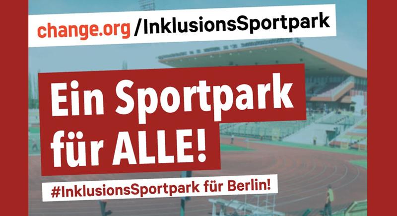 Petition zum Inklusions-Sportpark Berlin