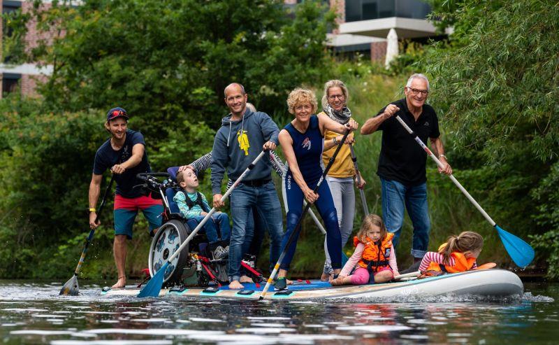 Integration von Menschen mit Behinderung im Wassersport