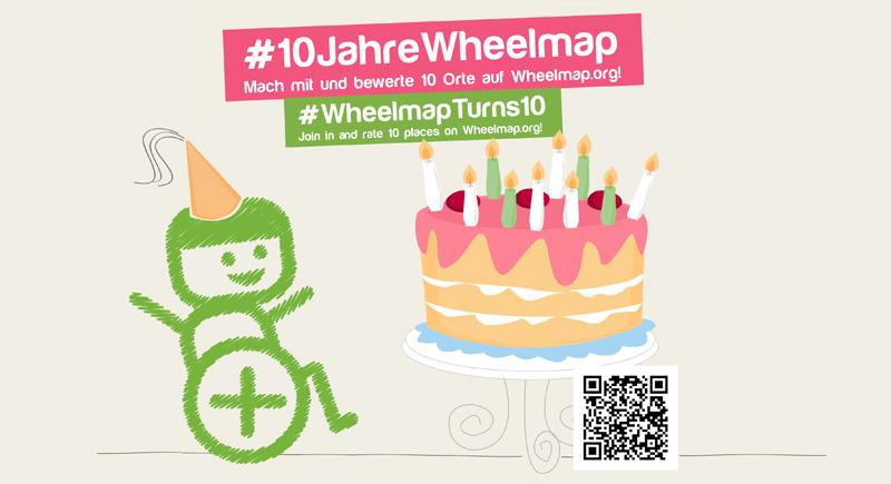 Wheelmap wird 10!