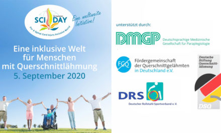 Internationaler Tag der Querschnittlähmung 2020