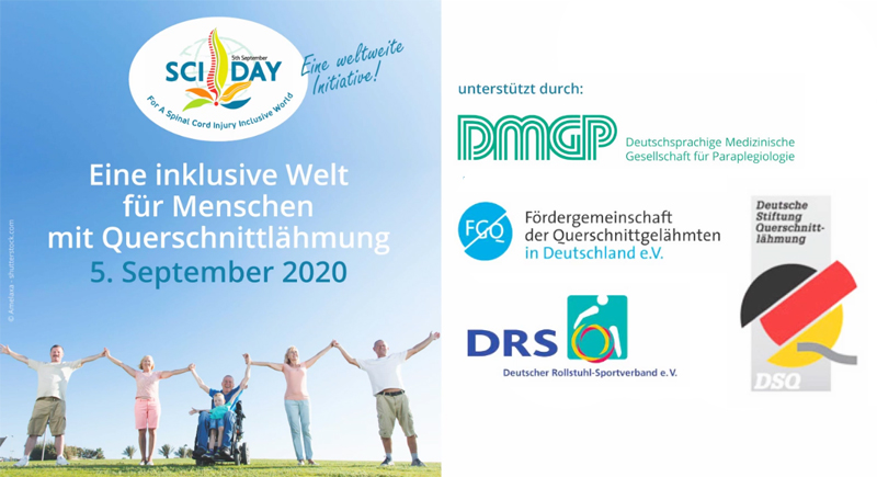 Internationaler Tag der Querschnittlähmung 2020