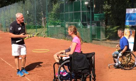 Hamburg macht sich fit für Rollstuhltennis