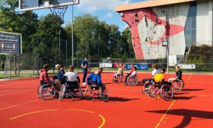 Rollstuhlbasketball-Workshop zum Auftakt der Hamburgiade 2020
