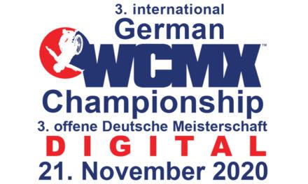 Absage digitale 3. offene Deutsche Meisterschaft im WCMX
