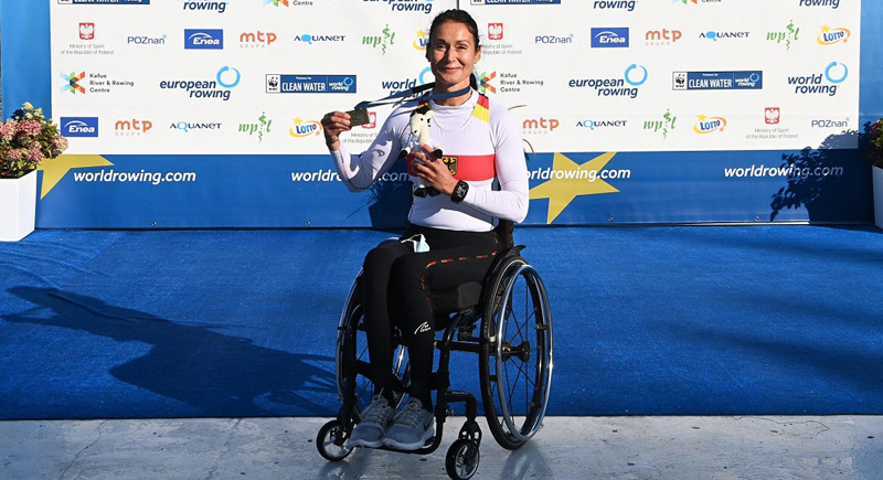 Zwei Bronzemedaillen bei der Para-Rudern-EM