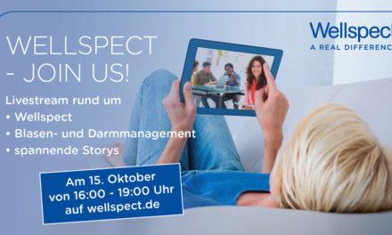 """Morgen am 15. Oktober von 16:00 – 19:00 Uhr heißt es """"Wellspect – join us!"""""""