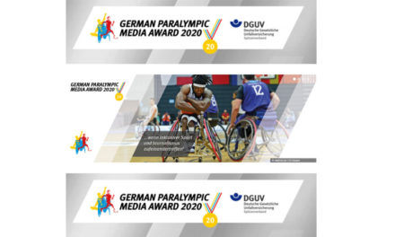 Letzter Aufruf zum German Paralympic Media Award 2020: