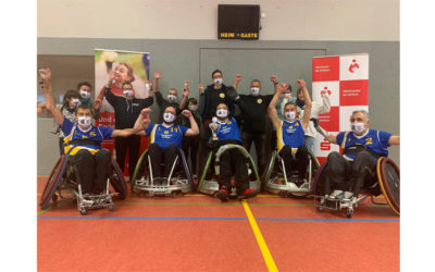 Rollstuhlrugby-Turnier in Karlsruhe-Knielingen