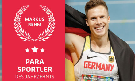 Weitspringer Markus Rehm ist Deutschlands Para Sportler des Jahrzehnts