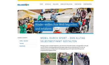 Rollikids starten mit neuer Webseite
