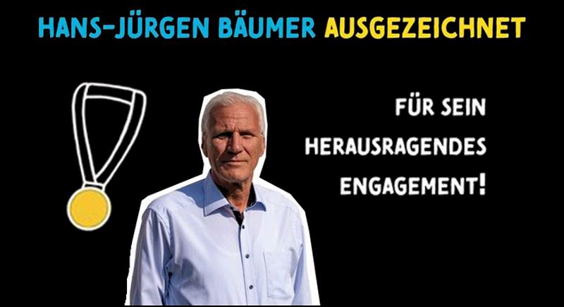 Hans-Jürgen Bäumer vom DRS mit Dr. Horst Strohkendl-Preis ausgezeichnet