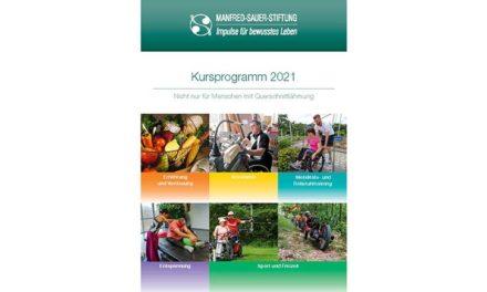 Manfred-Sauer-Stiftung stellt Kursprogramm 2021 vor