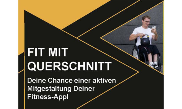 Fitness-App für Paraplegiker*Innen