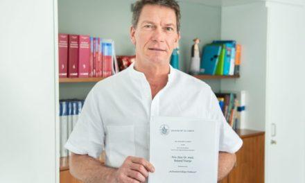 Privatdozent Dr. med. Roland Thietje wird «Außerplanmäßiger Professor» der Universität zu Lübeck