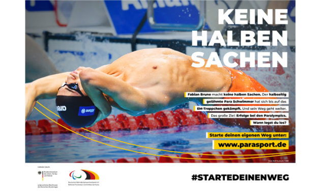 #StarteDeinenWeg in den Para Sport
