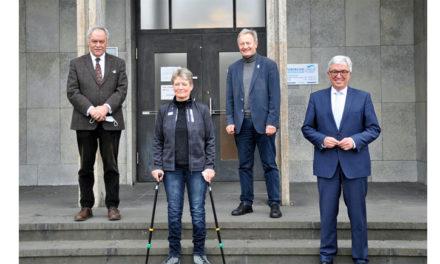 Vorsitzender der Sportministerkonferenz trifft DBS-Präsident in Koblenz