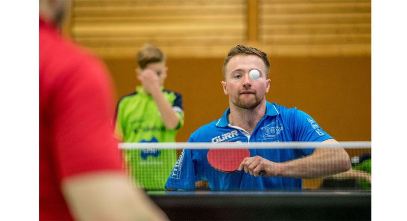 Die SportRegion Stuttgart präsentiert diese Woche Rollstuhltischtennis